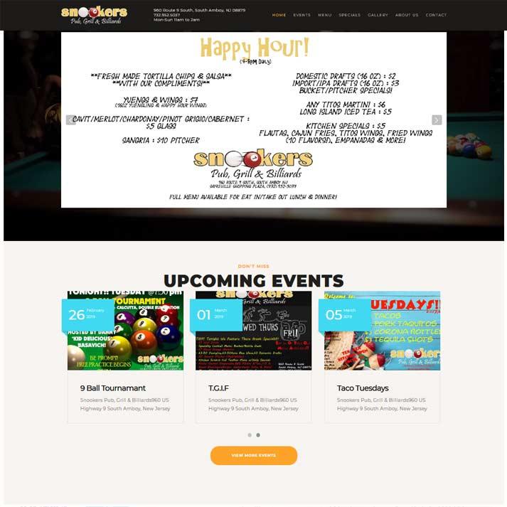 Snookers Website